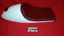 VINCENT STYLE CAFE RACER SEAT WITH BUILT IN STOP TAIL LIGHT & PAD