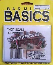 BAR MILLS 401 HO Sidewalk Street Elevator - Craftsman Kit      MODELRRSUPPLY-COM