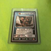 Jake and Nog Deep Space Nine Rare R Star Trek CCG card New Mint TNG DS9 TOS