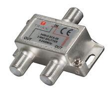 Triax Satellite Splitter / 5-2400 MHz to 2 T349812