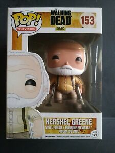 FUNKO POP! Television Walking Dead #153 Hershel Greene.