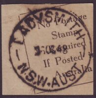 "NSW POSTMARK ""LADYSMITH"" DATED 26/10/1948 (A11102)"