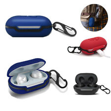 For Samsung Galaxy Buds Earphone Silicone Armor FULL Case Cover With Keychain