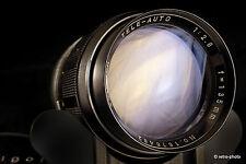 Soligor 135mm f/2.8 Tele Auto telephoto lens, T4 mount, case, TESTED, excellent