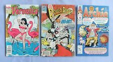 ARCHIE, VERONICA AND ROGER RABBIT COMIC BOOKS EARLY 1990'S