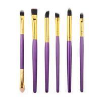6PCs/set Makeup Eye Brushes Set Eyeliner Eye Shadow Eyeshadow Blending Brush