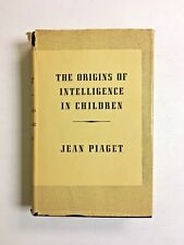 The Origins of Intelligence in Children Jean Piaget Hardcover Dust Jacket HC DJ