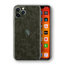 iPhone 11 Pro Shadow Green Camo 3D Textured Skin