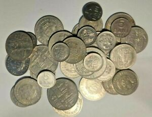 All 1966 LOT Romania 35 Beautiful old coins