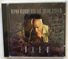 Alpha Blondy 'Dieu' EMI Music CD Import (1994) Roots Reggae New Sealed Rare