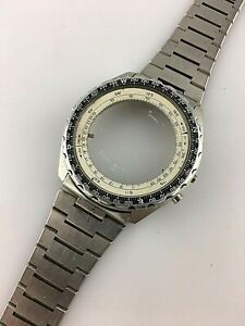 Watch Strap And Case for Watch Breitling Navitimer Digital Used Replacement