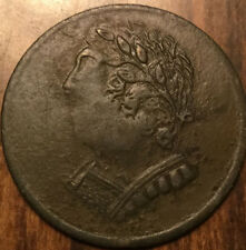 1820 LOWER CANADA HALF PENNY TOKEN BUST AND HARP - Really nice !