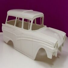 Jimmy Flintstone 1/25 1957 Ford 4-Dr Country Sedan Wagon Body for RMX JIMNB200