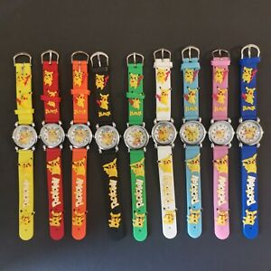 Pokemon Pikachu Wrist Watch Children Boys Girls Kids Party Stocking Filler Gift