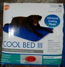 """K&H Pet Products Cool Bed III LARGE 32"""" x 44"""" Dogs over 60 lbs FREE POST"""