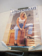 SEXY GIRL PIN UP POSTER LOWENBRAU BEER WOMEN MANCAVE
