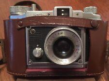 "Rara Vintage 1953 saraber Goslar ""Finetta 88"" 35mm Cámara Original Estuche Y Documentos"