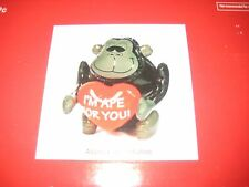 """Inflatable Jumbo Gorilla """"I'm Ape For You"""" Valentines Day Large 34"""" Inflated"""