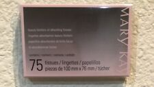 MARY KAY BEAUTY BLOTTERS OIL ABSORBING TISSUES 75 TISSUES NEW IN BOX ALL SKIN MK