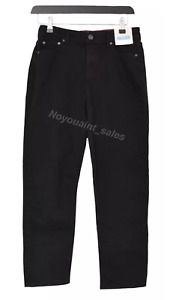 Women's Joules Etta Straight Leg Jeans Black Size UK 12 BNWT NEW