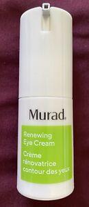 MURAD Renewing Eye Cream 15ml/0.5fl.oz. NEW. No Box. Free Shipping.