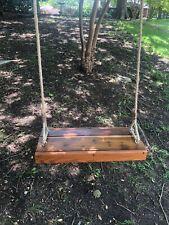 Deluxe Wooden Tree Swing