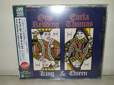 CD OTIS REDDING & CARLA THOMAS - KING & QUEEN - JAPAN OBI - EU PRESS - NUOVO NEW