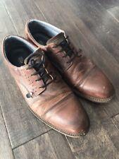 Bull Boxer Brown Men's Dress Casual Lace Up Shoes - Men's 12 medium