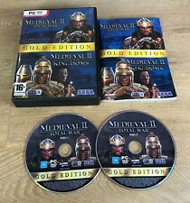 Medieval 2: Total War/Kingdoms - Gold Edition (PC DVD-Rom), Used