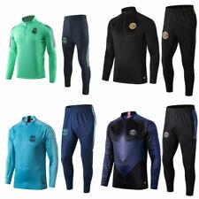 Adult Men Football Sport Training Suit Soccer Survetement Tracksuit  Sportwear