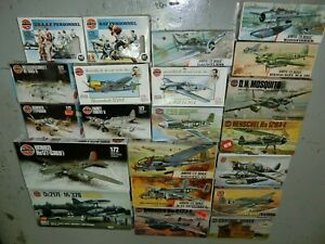 1/72 Airfix lot of 21