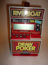 Radica Riverboat Royal Flush 3000 5 Card Draw Video Poker Bank  Working