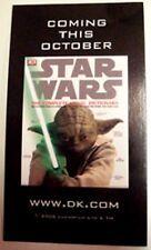 SDCC Star Wars Dictionary Book Yoda Jedi Green Lightsaber Magnet Promo Lucas NEW