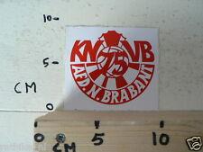 STICKER,DECAL KNVB AFD NOORD BRABANT VOETBAL 75