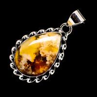 """Brecciated Mookaite 925 Sterling Silver Pendant 1 5/8"""" Ana Co Jewelry P723535F"""