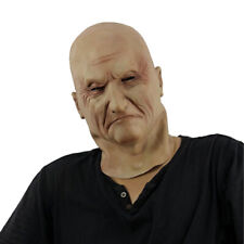Realistic Latex Old Man Mask Halloween Fancy Scary Disguise Masquerade Cosplay