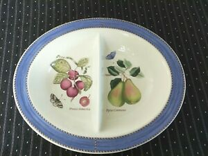 Wedgwood Sarah's Garden Vegetable dish divided