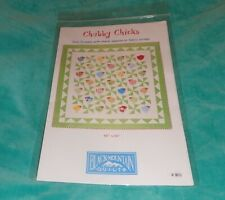 """BLACK MOUNTAIN QUILTS PATTERN #801 ~ CHUBBY CHICKS! ~ 60"""" x 60"""" QUILT ~ NEW"""