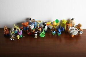 Collectible toys from Shrek, Ice Age, Rio, Kung Fu Panda, Home