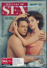 Masters Of Sex SeasoN two 2 Second DVD NEW Region 2 and 4