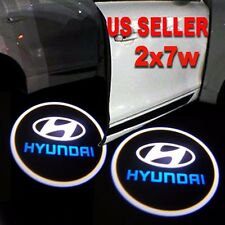 2x7w Ghost Shadow Laser Projector Logo LED Door Step Light Courtesy for HYUNDAI