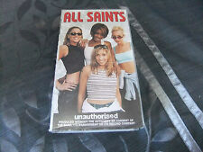 ALL SAINTS UNAUTHORISED VHS VIDEO NEW & SEALED 1998  RARE