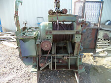 45,000 lb.  Military Garwood Winch 2 Speed PTO Winch & Air Tensioner