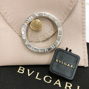 BVLGARI key ring Key ring Sterling Silver