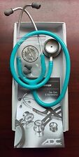"ADC Adscope-lite Lightweight Stethoscope 31"" TURQUOISE 609TQ New in Box Warranty"