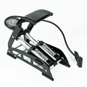 Double Piston Bicycle Footpump