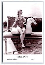 Ellen Drew (C) Swiftsure Postcard year 2000 modern print P46/1 glamour photo