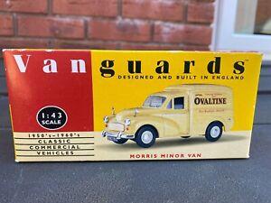 Vanguards VA11002 Ovaltine Morris Minor Van - Mint In Box