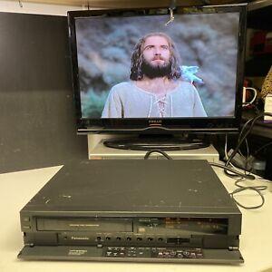 PANASONIC NV-F55 HQ VCR VIDEO HI-FI STEREO QUALITY (No remote) Tested & Working