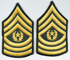 ARMY COMMAND SERGEANT MAJOR CHEVRONS MALE PAIR NEW